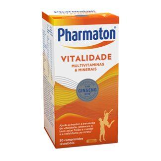 Pharmaton Vitalidade contém Ginseng G115®, vitaminas e minerais que o ajudam a ultrapassar com sucesso os seus desafios ao longo do dia.