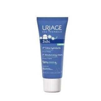 Uriage Bebé Primeiro Creme Hidratante Rosto 40ml, assegura uma pele perfeitamente protegida durante todo o dia e deixa um perfume delicado.