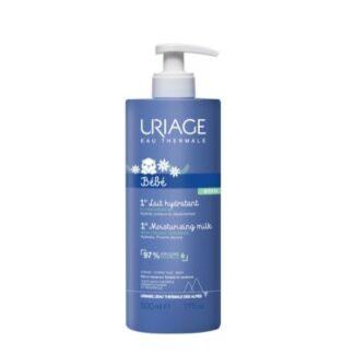 Uriage Bebé Primeiro Leite Hidratante 500ml, cuidado indispensável para recuperar o conforto da pele que por vezes fica seca