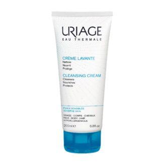 Uriage Creme Lavante 200ml, higiene suave sem sabão.Agradavelmente perfumado, um cuidado 2 em 1, limpa e hidrata e deixa a pele em suave.