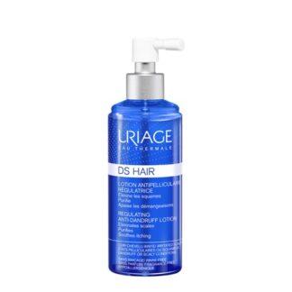 Uriage DS Loção Spray Calmante e Regulador 100ml,é uma solução reguladora não oleosa para utilizar diariamente. Rapidamente o couro cabeludo normaliza, o seu aspecto fica saudável e as películas desaparecem.