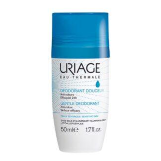 Uriage Desodorizante Roll-On Suave 50ml, este desodorizante sem sais de aluminio devolve-lhe suavidade e uma eficácia anti-odores durante 24h.
