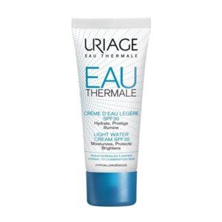 Uriage EAU Thermale Creme Ligeiro Spf20 40ml - PharmaScalabis
