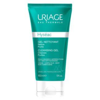 Hyseac Gel de limpeza elimina as impurezas e excesso de sebo, respeitando perfeitamente a epiderme.