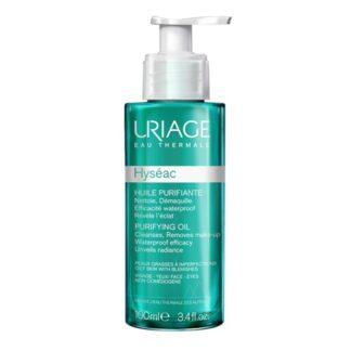 Uriage Hyséac Óleo Purificante 100ml, o primeiro passo essencial para uma pele suave e purificada. O Óleo purificante limpa, remove a maquilhagem e elimina as impurezas. Sem efeito colante, deixa a pele fresca e perfeitamente limpa.