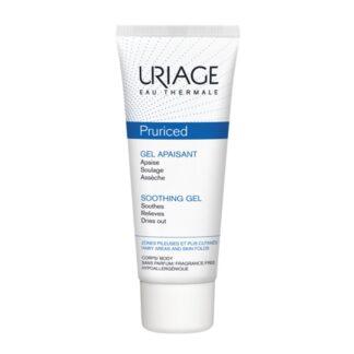 Uriage Pruriced Gel Apaziguante 100ml, gel Apaziguante, suaviza e alivia o prurido da pele irritada e frágil. Com elevada tolerância, promove uma sensação de frescura imediata.