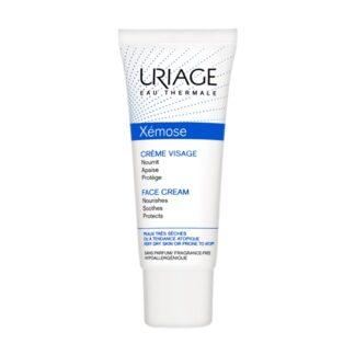 Uriage Xémose Creme de Rosto Nutritivo 40ml, este creme nutritivo, diminui a sensação de repuxar e protege contra as agressões externas. A sua textura conforto deixa a pele suave e macia.