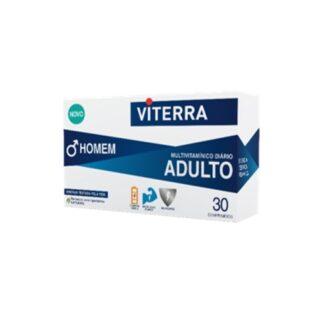 Viterra Adulto Homem 30 Comprimidos - PharmaScalabis