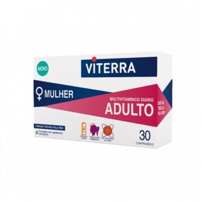 Viterra Adulto Mulher 30 Comprimidos - PharmaScalabis