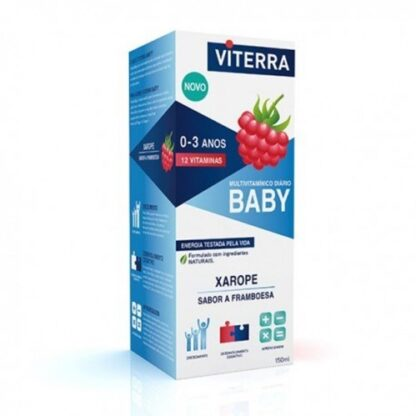 Viterra Bebe Xarope Framboesa 150ml - PharmaScalabis