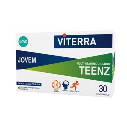 Viterra Jovem Teenz 30 Comprimidos - PharmaScalabis