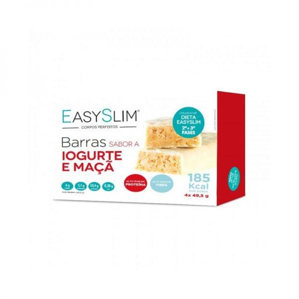 EasySlim Barras Proteicas Iogurte e Maça 4 Unidades - Pharma Scalabis