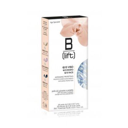 B-Lift Pérolas de Coenzima Q10 28 Pérolas, pérolas de Coenzima Q10 para o combate ao anti-envelhecimento para uma pele mais jovem. Indicado em todos os tipos de pele, no combate aos radicais licores que são os causadores principais do envelhecimento da pele.