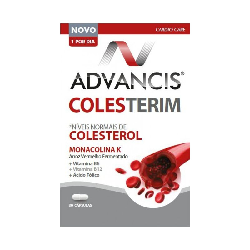 Advancis Colesterim 30 Cápsulas - Pharma Scalabis