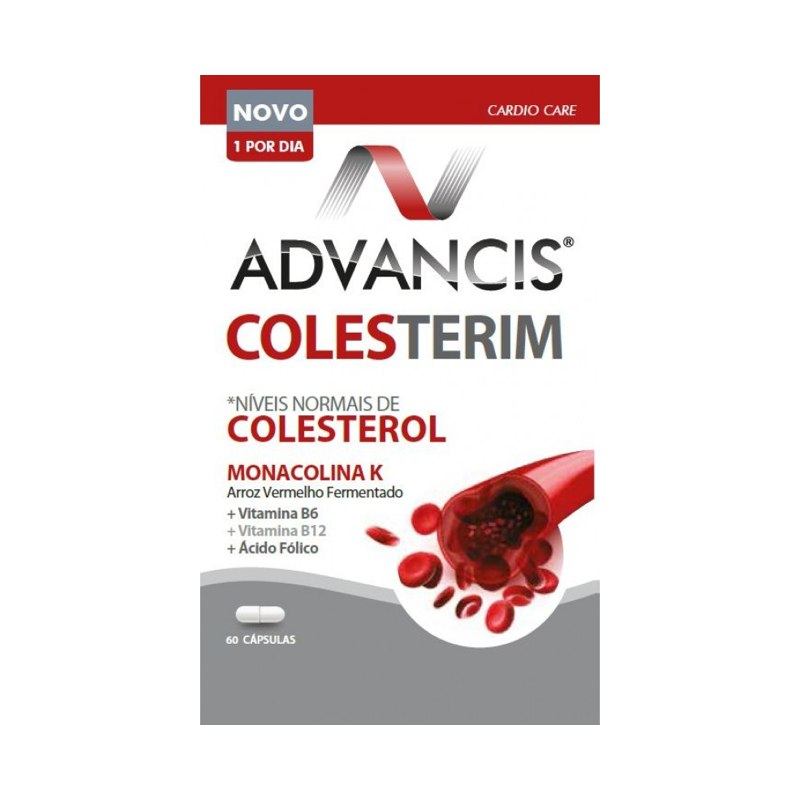 Advancis Colesterim 60 Cápsulas - Pharma Scalabis