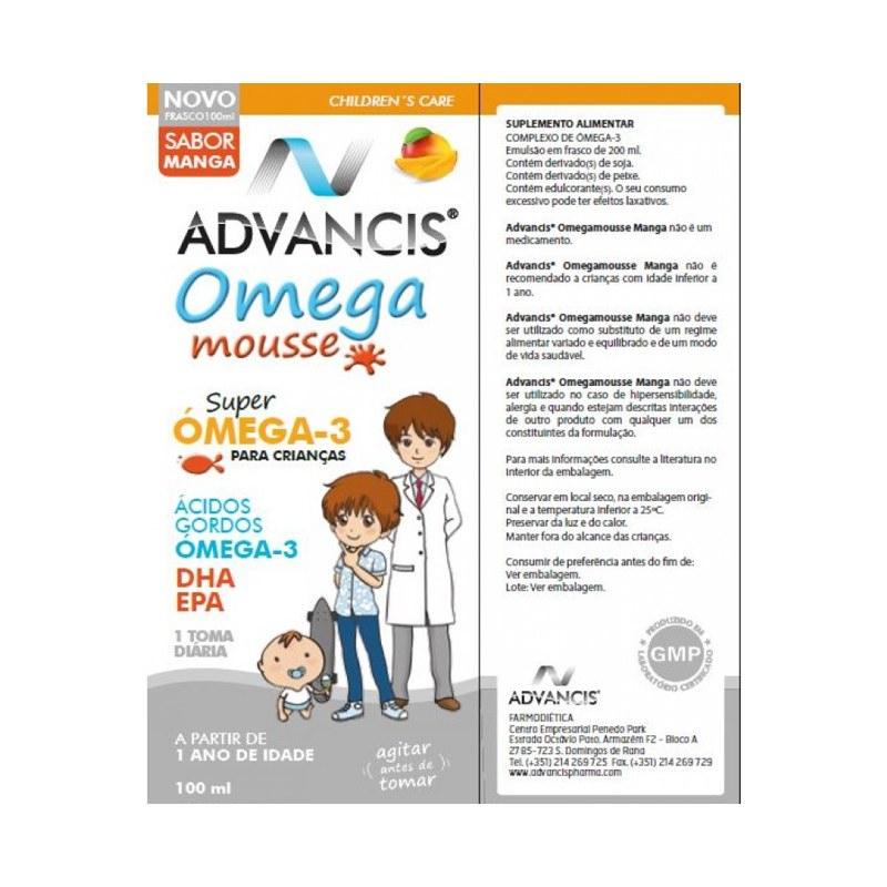 Advancis Omega Mousse Manga 100ml