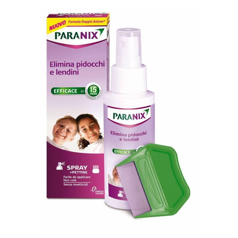 Paranix Spray Elimina Piolhos com Pente 100ml