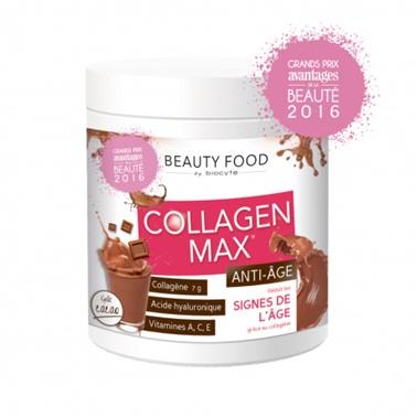 Biocyte Collagen Max Anti-Age 260gr Suplemento Alimentar à base de Colagénio hidrolisado marinho para combater as rugas e a flacidez da pele, Vitamina C