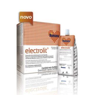 O novo Electrolit é uma solução de reidratação oral líquida, com um agradável aroma a laranja e de muito fácil administração, para lactentes, crianças e adultos, que cumpre as recomendações