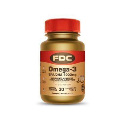 FDC Omega-3 EPA/DHA 1000mg 100 Cápsulas, os ómegas-3 são gorduras polinsaturadas que devem estar presentes numa alimentação saudável e equilibrada. São ácidos gordos essenciais, obtidos através do consumo de peixes gordos (como sardinha, cavala, sarda, atum, arenque e salmão), óleo de peixe, sementes (linhaça e chia), óleos (óleo de linhaça) e alguns frutos oleaginosos (nozes).