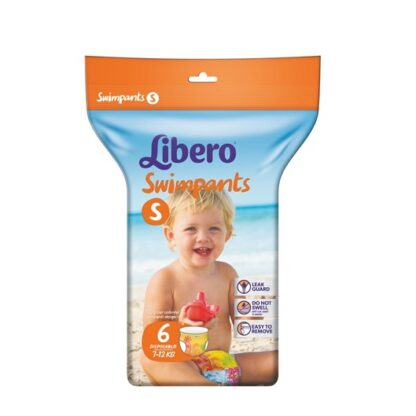 Libero Baby Swimpants S (7-12Kg) 6unid