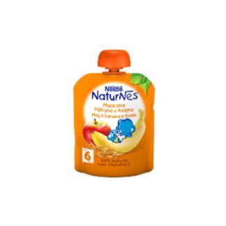Nestle Naturnes 6M - Maçã Banana e Aveia 90gr PharmaScalabis