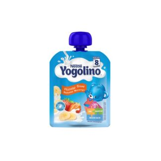 Nestle YOGOLINO 8M - Banana Morango 90gr