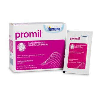Promil 20 saquetas, suplemento alimentar que pode ser utilizado pelas mães em processo de amamentação,