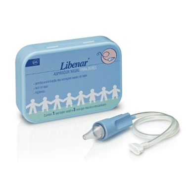 Libenar Aspirador Nasal para Bébés