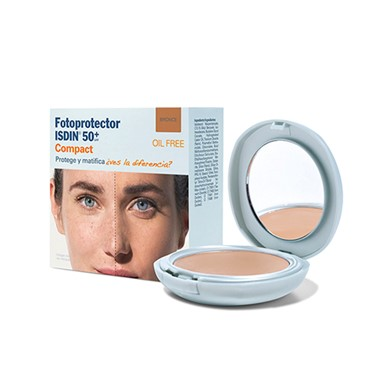 Isdin Fotoprotector Compact Bronze FPS50+ 10 Gr - Pharma Scalabis
