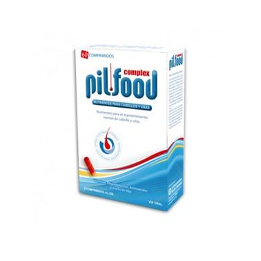 PilFood Complex 60 Compridos é um suplemento alimentar bem equilibrado com uma composição ideal de nutrientes para a manutenção de um cabelo normal
