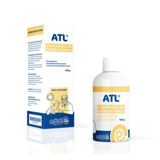 ATL Suspensão Óxido de Zinco 150grprotege a pele da criança, do adulto e do idoso, sujeita a situações de vermelhidão que podem conduzir a eritema da fralda e assadura.