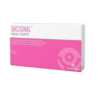 Baciginal Oral Forte 14 Cápsulas