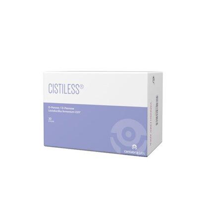 CistilessSuplemento Alimentar 20 sticks,especificamente desenvolvido para o conforto e bem-estar do tracto urinário. Cuidado e proteção diária com cistiless.