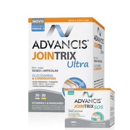 Advancis Jointrix Ultra 30 Comprimidos 30 Capsulas - Pharma Scalabis