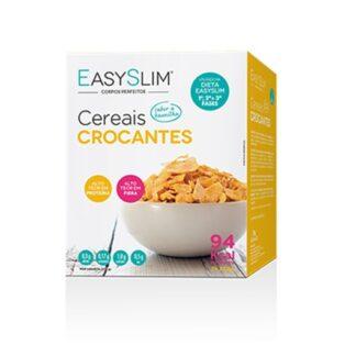 Easyslim Cereais Crocantes Baunilha - 7 Unidades, são uma opção deliciosa e crocante para consumir ao pequeno-almoço ou ao lanche da manhã ou da tarde.