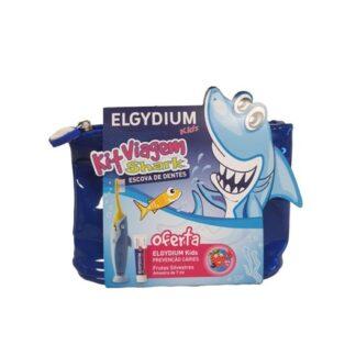 Elgydium Kids Kit Viagem, estabelecer a ideia de rotina na higiene oral nas crianças desde cedo é muito importante. O KIT viagem Kids vai ajudá-lo nessa missão, possibilitando manter o compromisso da escovagem em qualquer lugar.