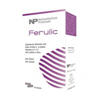 O Ferulic é composto por 8 potentes antoxidantes 5 componentes anti-aging.