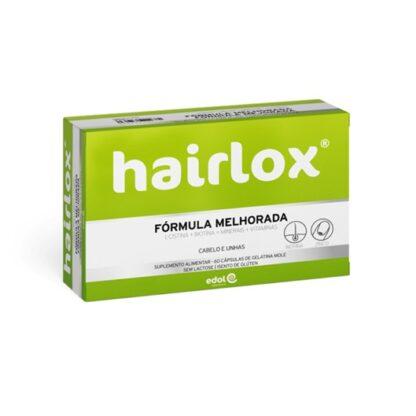 Hairlox contém zinco, que contribui para a manutenção de um cabelo normal e de unhas normais, e biotina, que contribui para a manutenção de um cabelo normal.