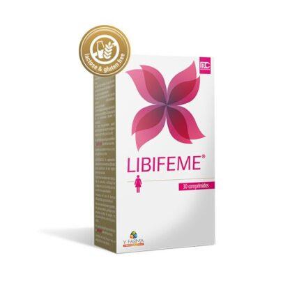 Libifeme 30 Comprimidos especialmente desenvolvido para as mulheres com pouco ou baixo prazer, devido à redução ou falta de lubrificação vaginal e dor nos momentos íntimos. Promove a saúde das mucosas (olhos, vagina e pele).