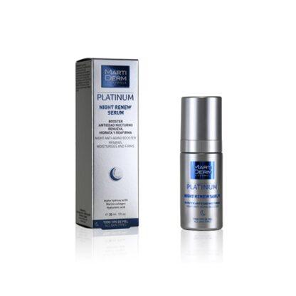 Martiderm Platinum Night Renew Serum 30ml - Pharma Scalabis