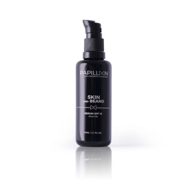Papillon Sérum Skin and Beard SPF 15 50ml - Pharma Scalabis