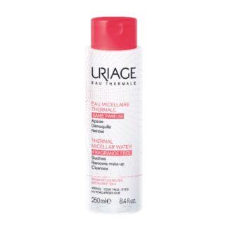 Uriage Água Termal Micelar Pele Intolerante 250ml, água Termal Micelar com Água Termal de Uriage remove eficazmente a maquilhagem,