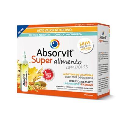 Absorvit Super Alimento 20 Ampolas