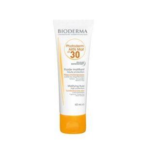 Bioderma Photoderm AKN Mat Tubo 40ml,ótimafotoproteçãoao mesmo tempo que previne acomedogénesee o efeito rebound do acne.Garante ainda um reforço dos mecanismos naturais de defesa da pele.