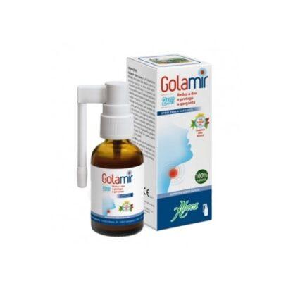 Golamir 2Act Spray S/ Álcool 15ml e indicado nos casos de dor de garganta que podem ser causados por agentes externos (vírus, bactérias, alergénicos, fumo, poluição atmosférica, pó).