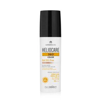 Heliocare 360º Gel Oil-Free Cor Beige SPF 50+ 50ml fotoproteção com cor da linha Heliocare 360º com uma fórmula Oil-free