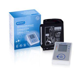 O tensiómetro de braço Alvita permite aos doentes efetuar medições da pressão arterial precisas, consoante a sua conveniência, nas suas próprias casas.