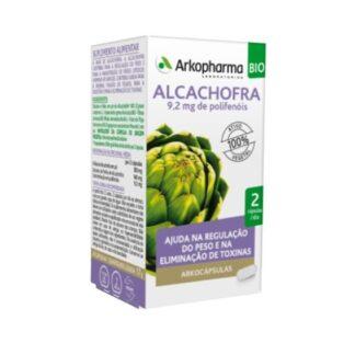 Arkocápsulas Alcachofra 40 Cápsulas, suplemento alimentar especialmente desenvolvido para favorecer o normal funcionamento do fígado e da digestão, para a manutenção de níveis saudáveis de lípidos no sangue e para o controle do peso e a eliminação de toxinas.