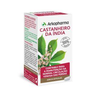 Arkocápsulas Castanheiro da Índia 45 Cápsulas, é um suplemento alimentar que contribui para a manutenção da circulação venosa das pernas e para a microcirculação.